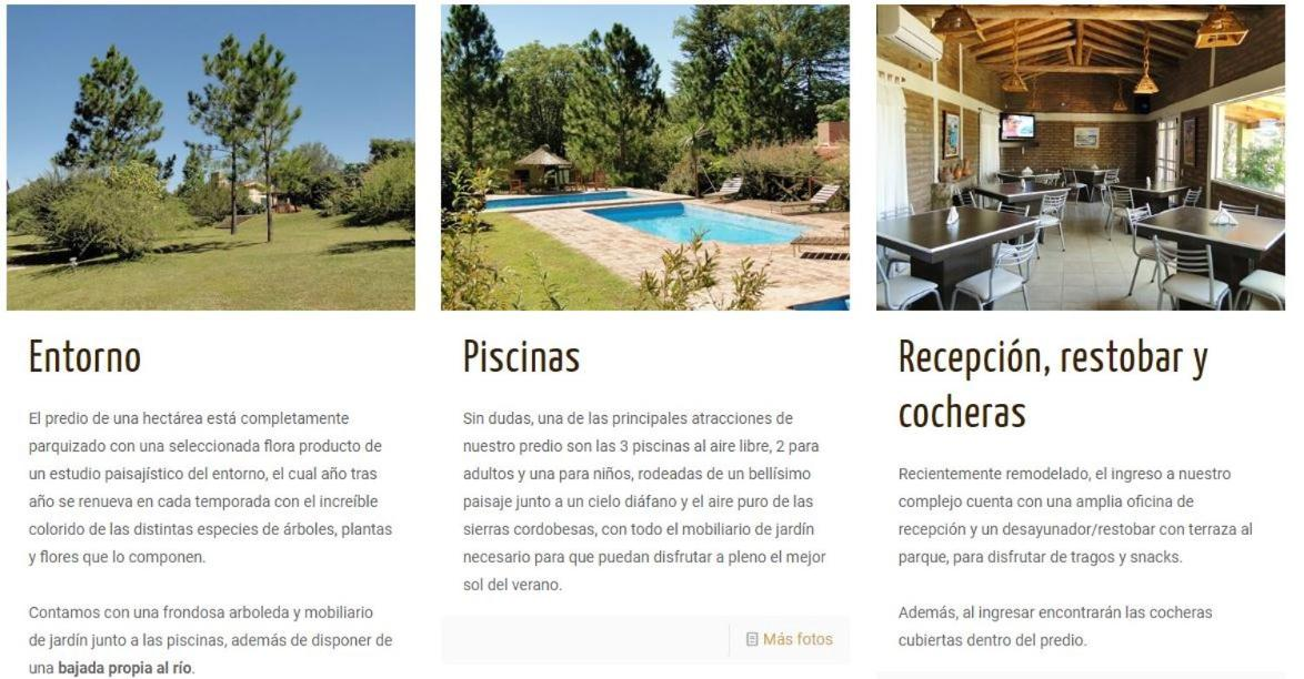 Chalet Complejo Lihue Tanti Argentina Booking Com