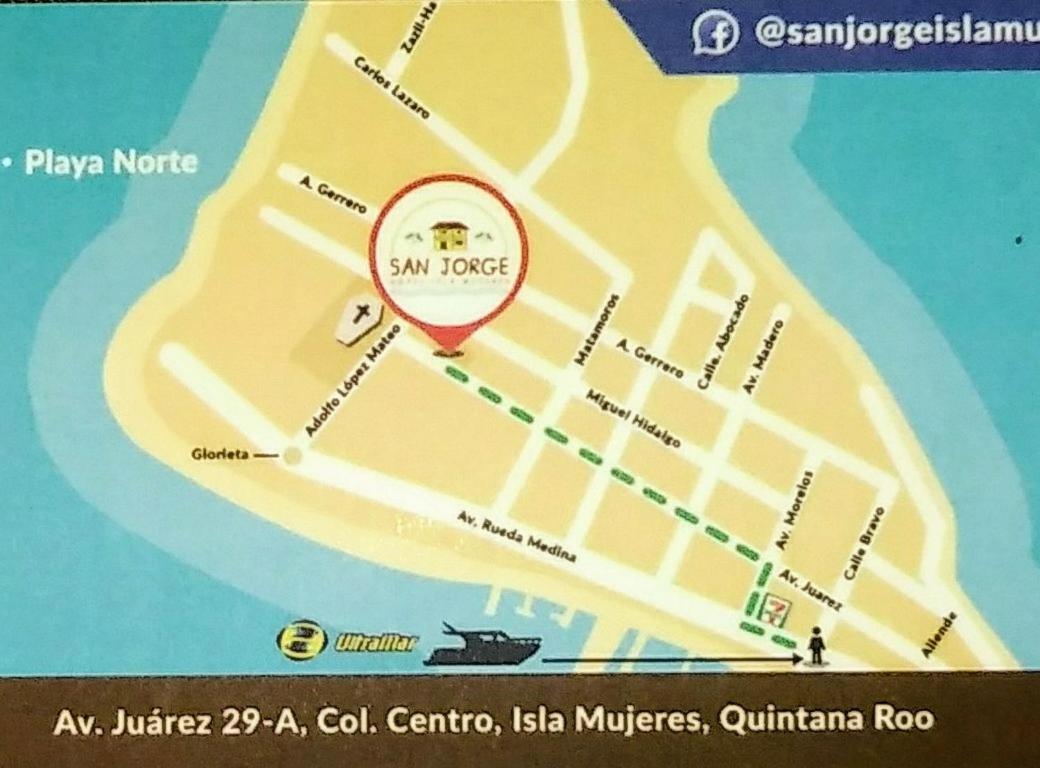 Hotel San Jorge, Isla , Mexico - Booking.com on
