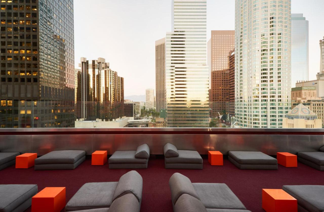 Downtown La Hotels With Rooftop Pools