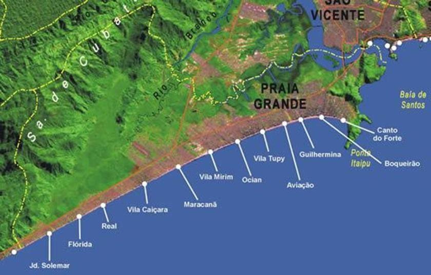 praia grande mapa Apartamento na Praia, Praia Grande – Updated 2018 Prices praia grande mapa
