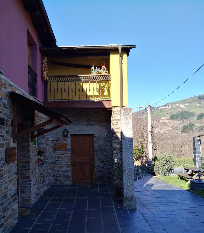 Ferienwohnung La Cabana´l Cachican (Spanien Cangas del ...