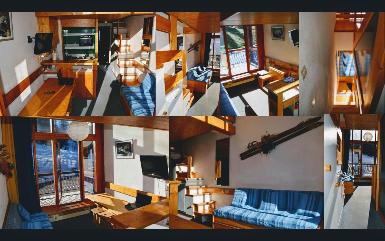 Duplex expo plein sud retour ski au pied devant balcon apartment arc 1800 france deals