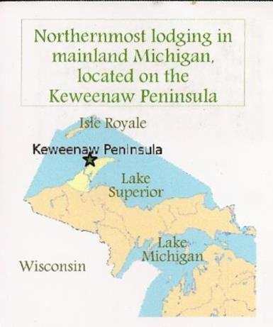 Lakeside Michigan Map.Eagle Lodge Lakeside Cabin 4 Copper Harbor Mi Booking Com
