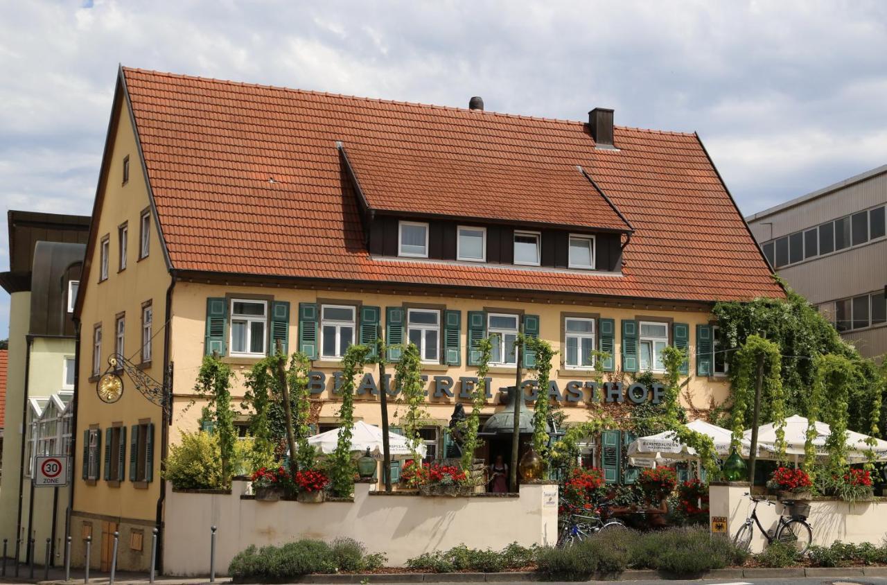 Pension Brauereigasthof Dachsenfranz (Deutschland Zuzenhausen ...