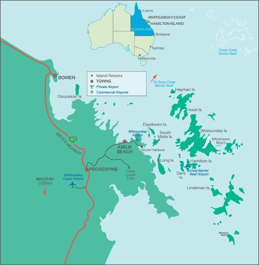 Hamilton Island Australia Map.Resort Elysian Retreat Long Island Australia Booking Com