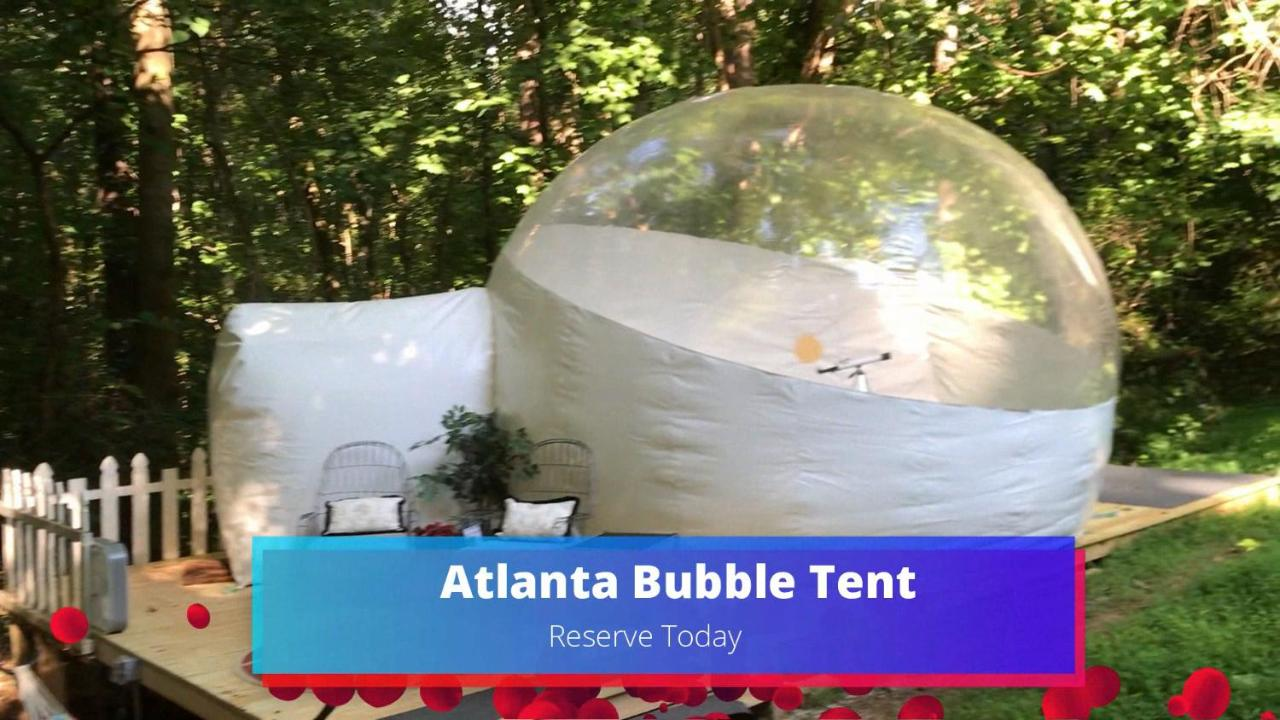 Hotel Atlanta Bubble Tent Stone Mountain Ga Booking