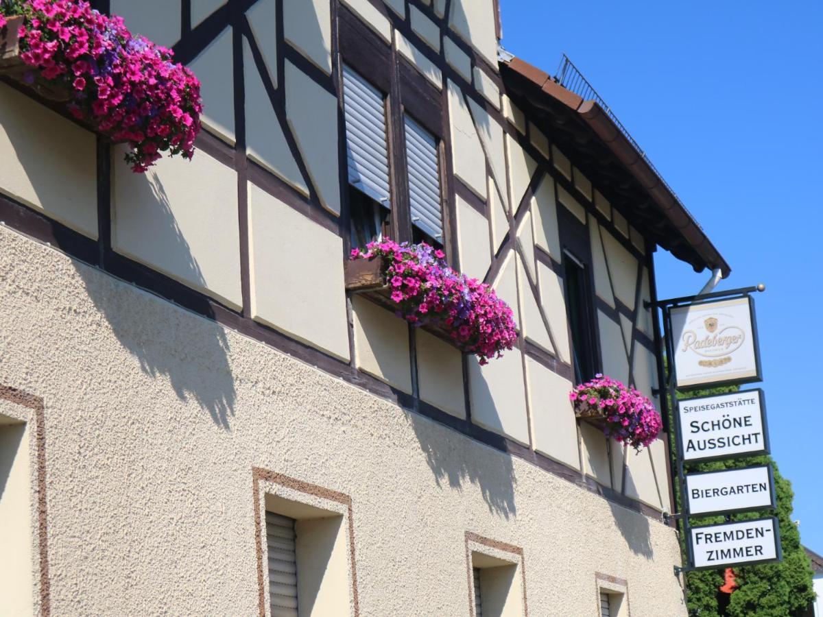 Gasthaus Schone Aussicht Usingen Germany Booking Com