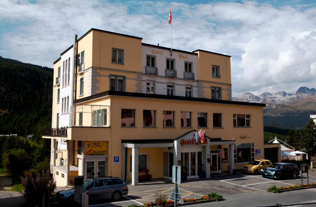 Hotel Post Pontresina, Switzerland - Booking.com