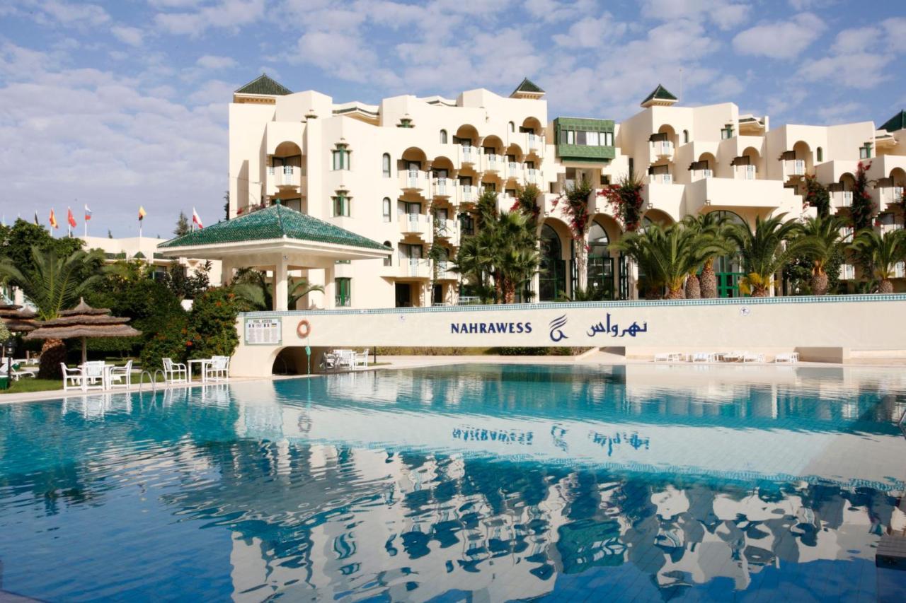 reservation hôtel nahrawess hammamet
