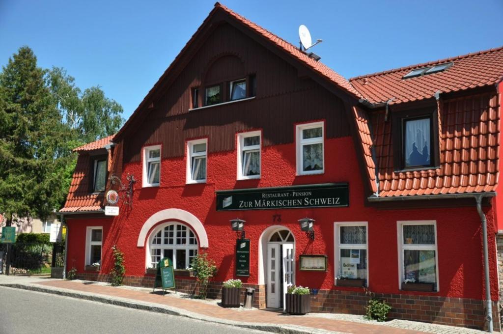 Hotel Markische Schweiz Deutschland Buckow Booking Com
