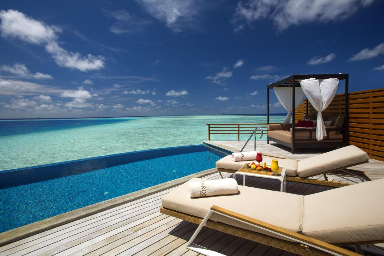 baros maldives - overwater bungalow with the best view