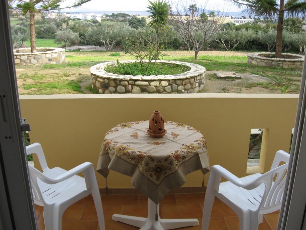 Backyard One Word Or Two apartment vasilis studios, kefalos, greece - booking