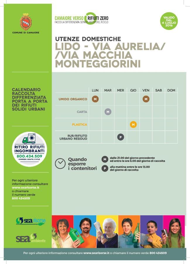 Calendario Raccolta Differenziata La Spezia 2020.Apartment Casa Nete Lido Di Camaiore Italy Booking Com