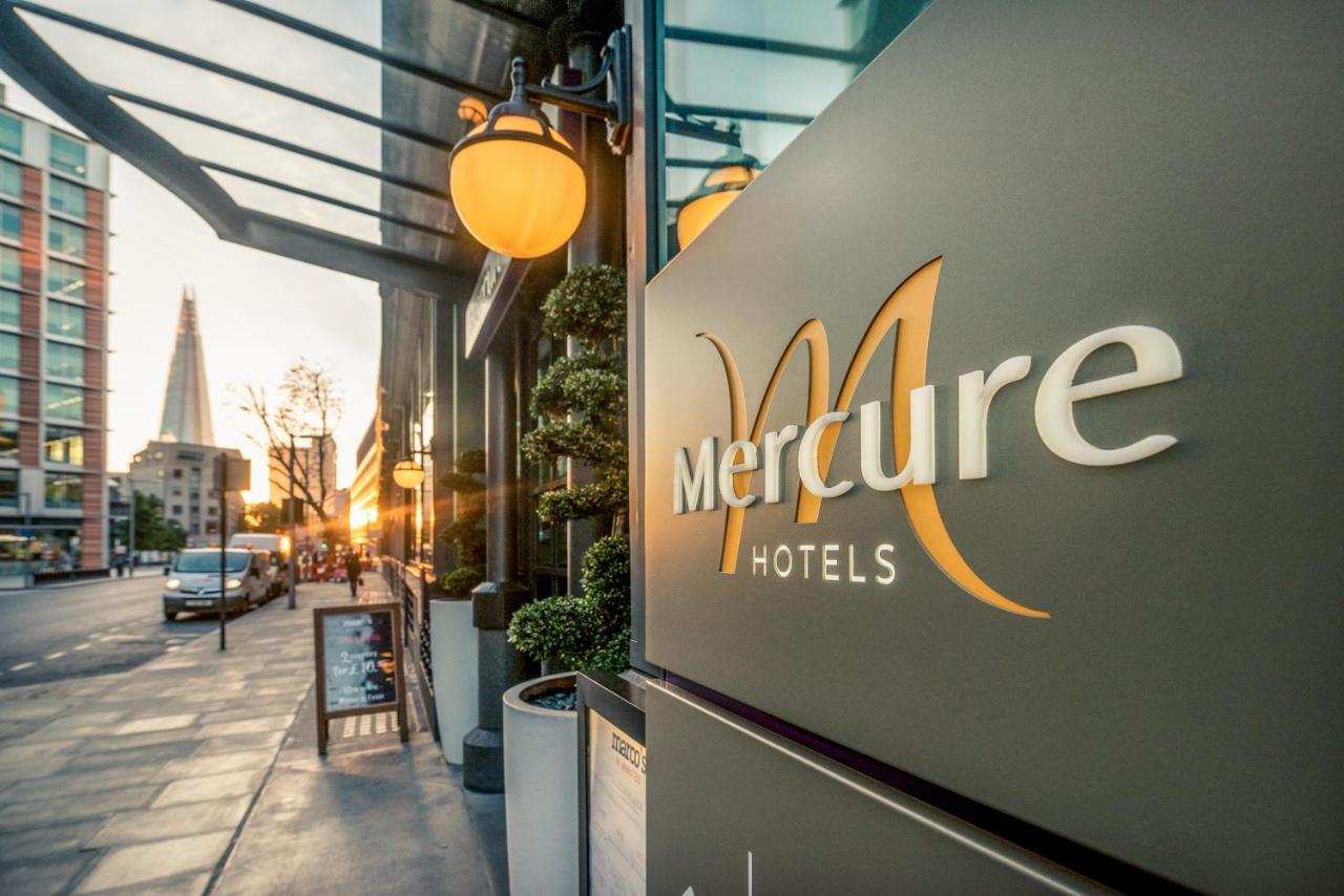 Hotel Mercure London Bridge Gb London Booking Com