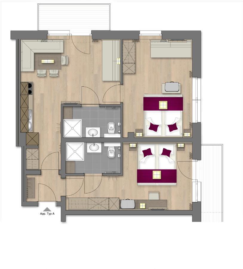 Appartement Flachauwinkl - OFENT�RL alpine living