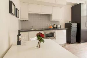 A kitchen or kitchenette at Gloucester Street Studios
