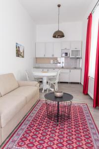 Prostor za sedenje u objektu Apartment Savamala 59
