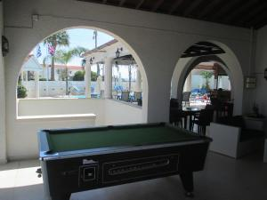 A pool table at Tsialis Hotel Apartments
