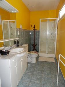 Salle de bains dans l'établissement Le Gite de Jouvence