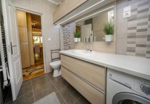 A bathroom at Stefania 35 Apartment