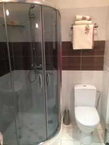 Vonios kambarys apgyvendinimo įstaigoje Kranto Luxe Stay