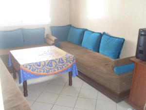 A seating area at Appartement Résidence Mixta