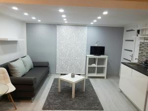 A seating area at Little Luxury Apartment