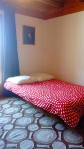 Un ou plusieurs lits dans un hébergement de l'établissement Gite Montagne Mercantour