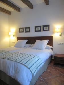Cama o camas de una habitación en Refugio del Segura
