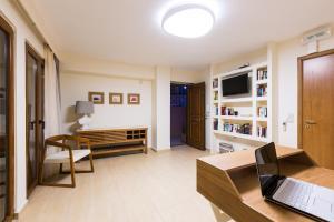 Coin salon dans l'établissement Leste Luxury Homes