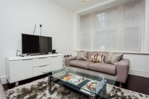 A television and/or entertainment center at Modern 2Bed in Central London- Close to Paddington