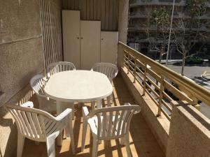 A balcony or terrace at Apartamento Nieves