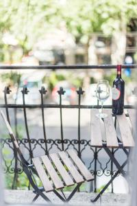 A balcony or terrace at Oasis Apartments - Budapest Broadway II