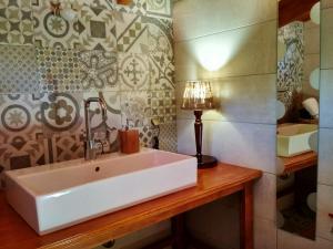 A bathroom at Oresivio