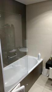 A bathroom at Miriam Sousa