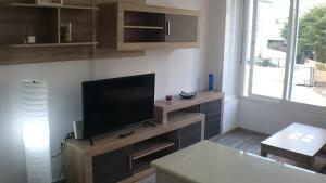 A television and/or entertainment center at Lovely Apartment