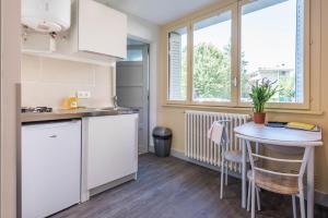 Cuisine ou kitchenette dans l'établissement Studio Vent - ANNECY DREAM