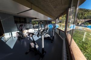 Gimnàs o zona de fitness de Aparthotel Sarrato