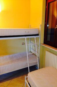 Palanda nebo palandy na pokoji v ubytování Residence La Sorgente