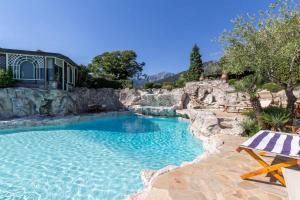 The swimming pool at or near Casa Cristina Picco Del Falco