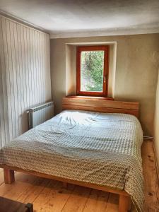 Postelja oz. postelje v sobi nastanitve Predel House