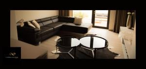 A seating area at Lemniscape Amoras Luxury Suite