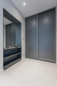 Vonios kambarys apgyvendinimo įstaigoje Apartamenty Grzegórzki Park