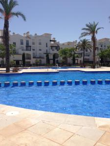 The swimming pool at or near Arenque Apartment