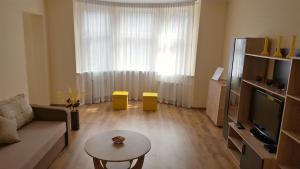 Atpūtas zona naktsmītnē Riga Central Avotu Apartments