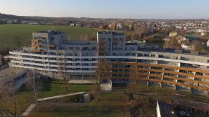 A bird's-eye view of Apartmánový dům Landek
