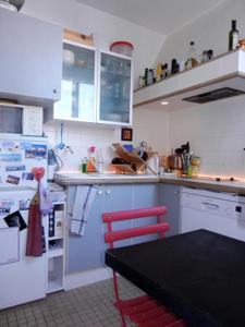 A kitchen or kitchenette at Beau 2 pieces avec balcon Paris parc des Buttes chaumont
