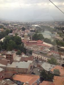 A bird's-eye view of Leila's Apartment