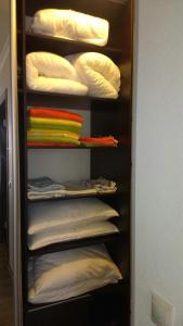 Двухъярусная кровать или двухъярусные кровати в номере Апартаменты «В Жилом Комплексе РУ»
