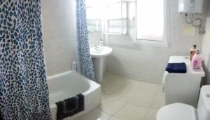 A bathroom at Apartamento Céntrico Puerto Del Rosario